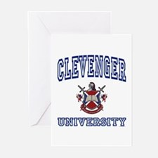 CLEVENGER University Greeting Cards (Pk of 10)