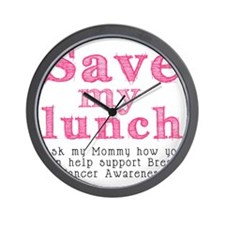 Save-My-Lunch-1 Wall Clock