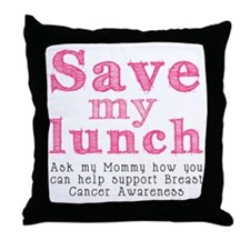 Save-My-Lunch-1 Throw Pillow