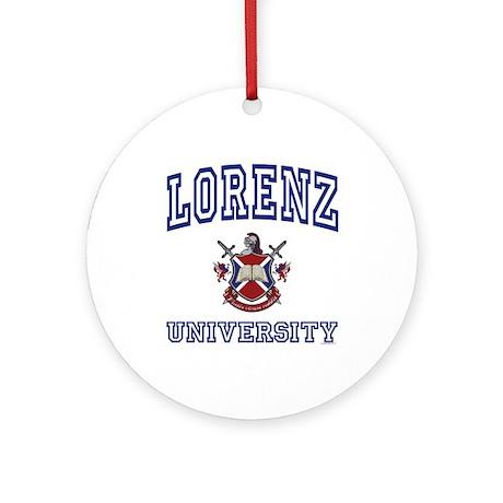 LORENZ University Ornament (Round)