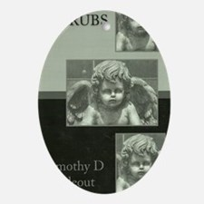 CHERUBS Oval Ornament