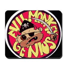 Evil Monkey Genius-1 Mousepad
