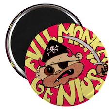 Evil Monkey Genius-1 Magnet