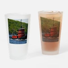 (4) sub tug Drinking Glass