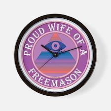 wifemasonnosc Wall Clock