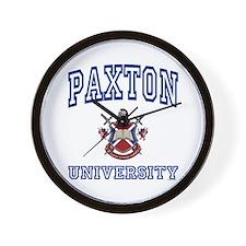 PAXTON University Wall Clock