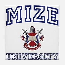 MIZE University Tile Coaster