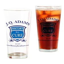 J Q ADAMS 6 TRUMAN dark shirt Drinking Glass