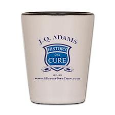 J Q ADAMS 6 TRUMAN dark shirt Shot Glass