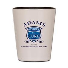 JOHN ADAMS 2 TRUMAN dark shirt Shot Glass