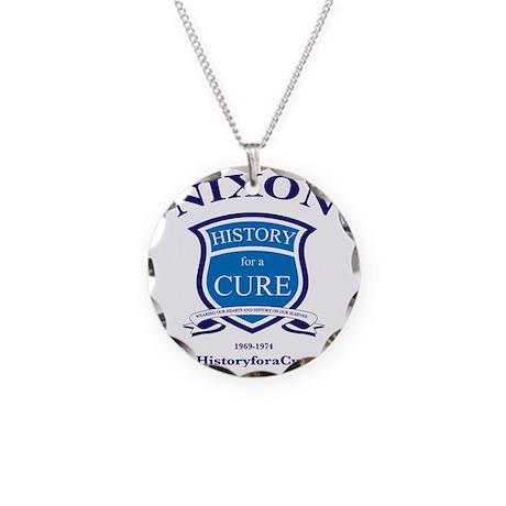 Richaed NIXON 37 TRUMAN dark Necklace Circle Charm
