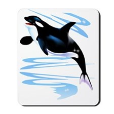 Orca Splash Trans Mousepad