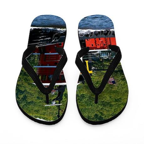 (15) sub tug Flip Flops