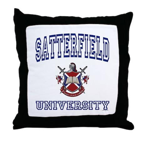 SATTERFIELD University Throw Pillow