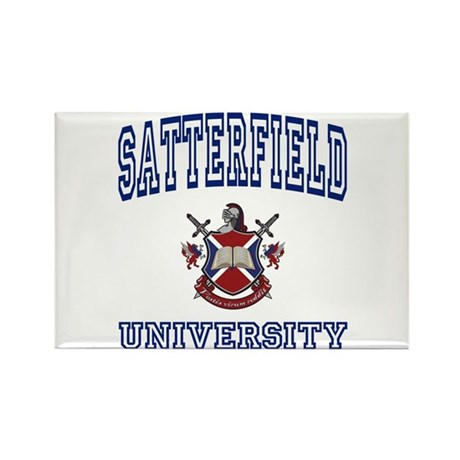 SATTERFIELD University Rectangle Magnet (10 pack)