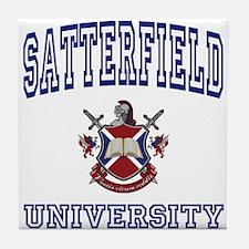 SATTERFIELD University Tile Coaster