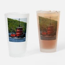 (12) sub tug Drinking Glass
