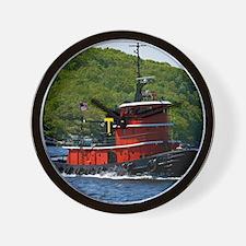 (12) sub tug Wall Clock