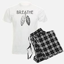 BREATHE lungs Pajamas