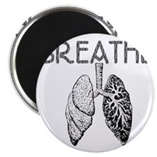 BREATHE lungs Magnet