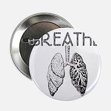 "BREATHE lungs 2.25"" Button"