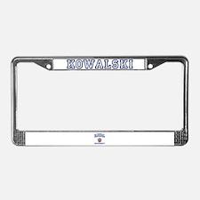 KOWALSKI University License Plate Frame