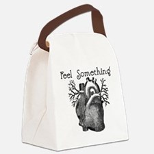 feel something Canvas Lunch Bag