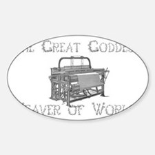 loom goddess Decal