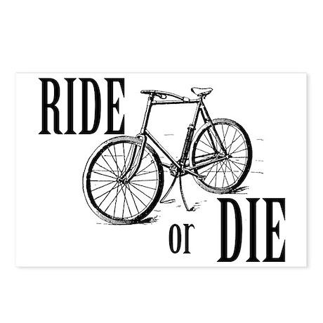 ride or die Postcards (Package of 8)