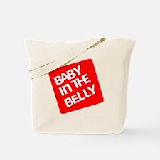 babyinthebellytest Tote Bag