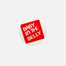 babyinthebellytest Mini Button