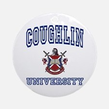 COUGHLIN University Ornament (Round)