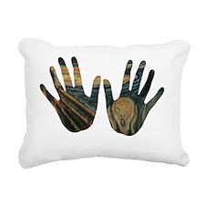 screem Rectangular Canvas Pillow