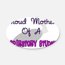 Pround Mother RT Student Oval Car Magnet