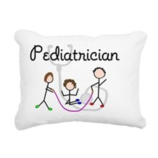 Pediatrician Rectangular Canvas Pillow