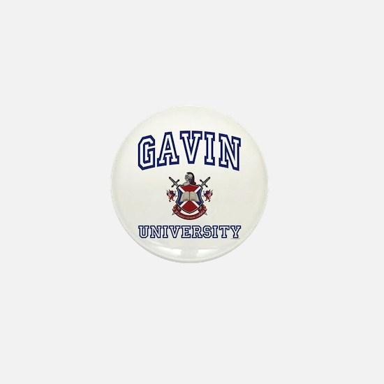 GAVIN University Mini Button