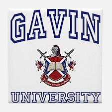 GAVIN University Tile Coaster