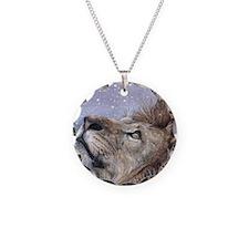 xmas_lion_HUGE Necklace