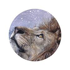 """xmas_lion_HUGE 3.5"""" Button"""