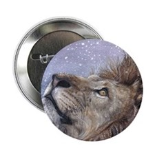 "xmas_lion_HUGE 2.25"" Button"