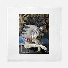 Carousel Horse Queen Duvet