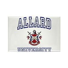ALLARD University Rectangle Magnet