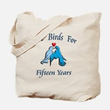 love birds 15 Tote Bag