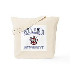 ALLARD University Tote Bag