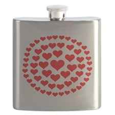 hearts_in_circles_2010 Flask