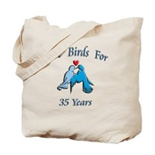 love birds 35 Tote Bag