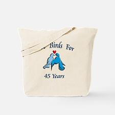 love birds 45 Tote Bag