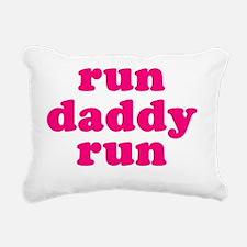 rundadyrun_pink Rectangular Canvas Pillow