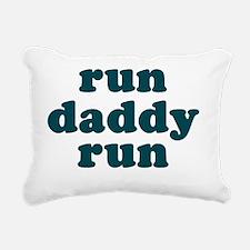 rundadyrun_blue Rectangular Canvas Pillow
