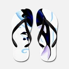 Mom and Baby Trans Flip Flops